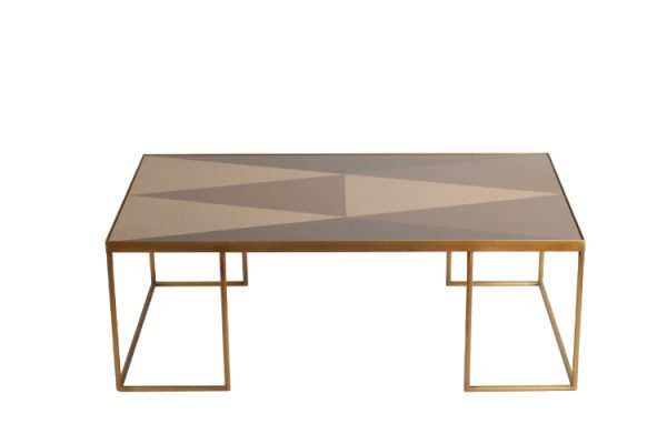 Notre Monde Coffee table bronze