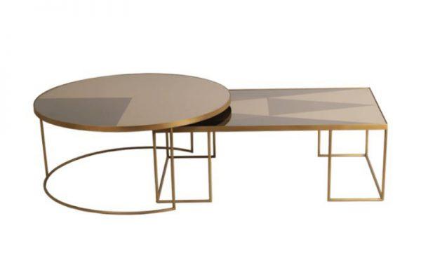 Notre Monde Coffee table bronze
