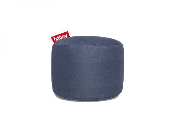 Fatboy Point Stonewashed Poef Blue